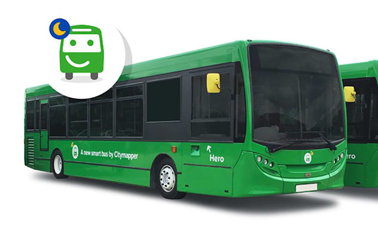 Citymapper to launch a weekend night bus service in London