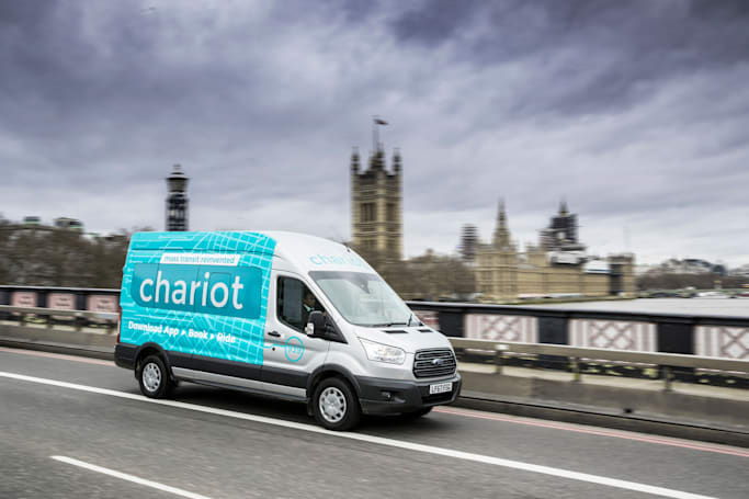 Ford's Chariot ride-sharing vans come to London