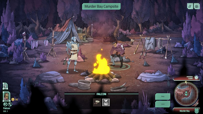 'Don't Starve' studio's sci-fi RPG looks like a gritty cartoon