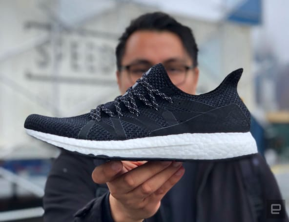 Adidas' NYC-inspired shoe was designed using data from runners