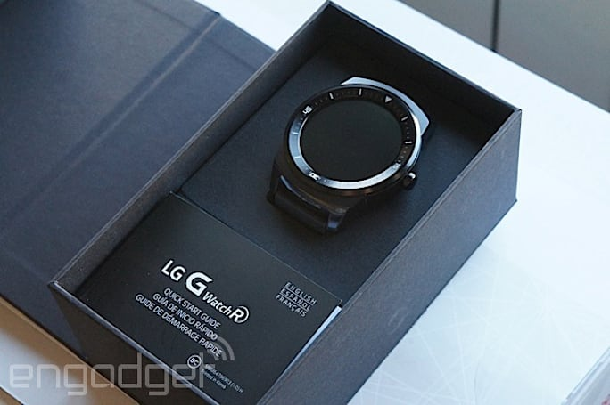 LG's £225 circular G Watch R goes on sale in the UK
