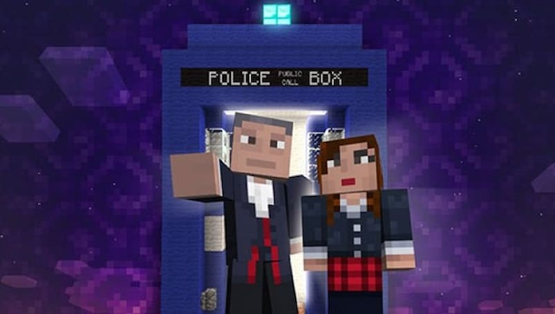 'Doctor Who' is coming to 'Minecraft' on Xbox 360 next month