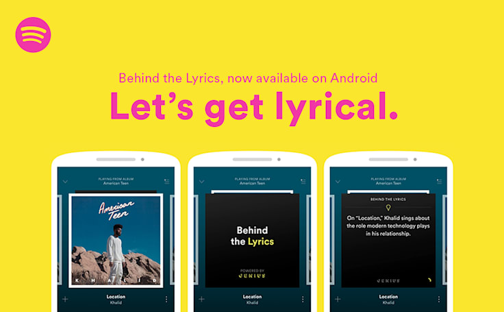 Spotify took its sweet time getting Behind the Lyrics on Android
