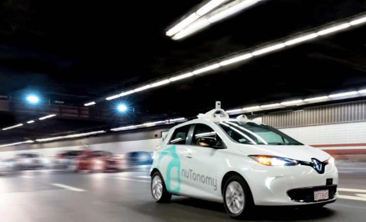 nuTonomy can test autonomous vehicles city-wide in Boston