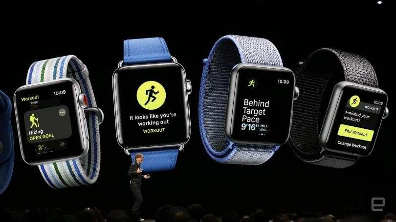 苹果把健康作为 watchOS 5 的重点