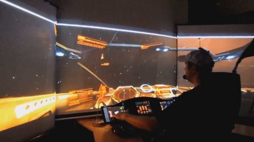 Check out the ultimate Elite: Dangerous setup