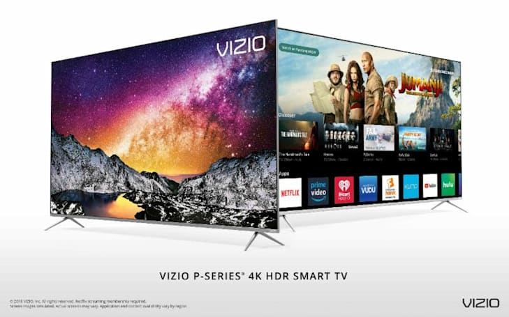 Vizio's feature-packed P-series 4K TVs go on sale