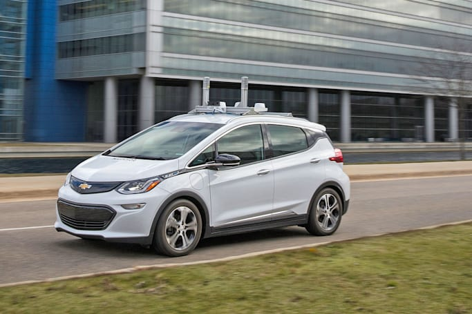 GM starts testing self-driving Bolts on Michigan roads