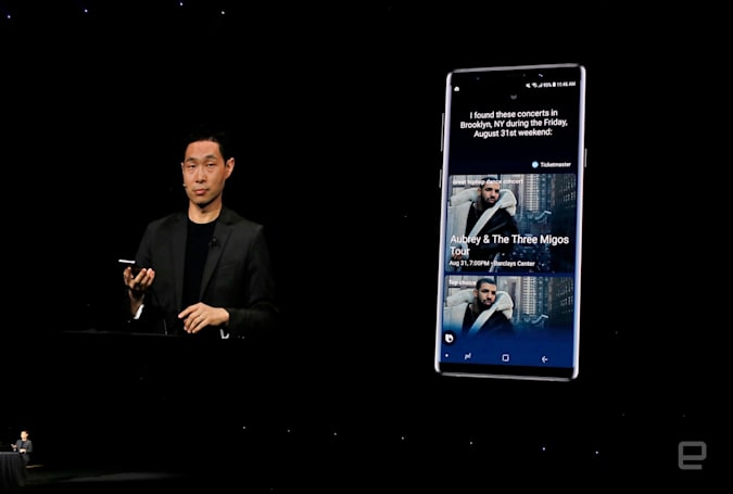 Samsung's upgraded Bixby assistant is still rough around the edges