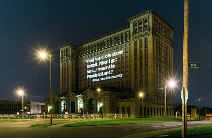 Ford's future transportation plans include an iconic Detroit train station