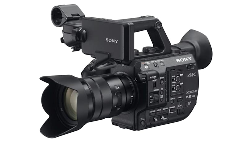 Sony's pro 4K camcorder has 4K RAW and 'Instant HDR'