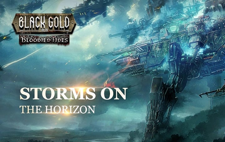 Black Gold's water-themed Bloodied Tides DLC arrives next week