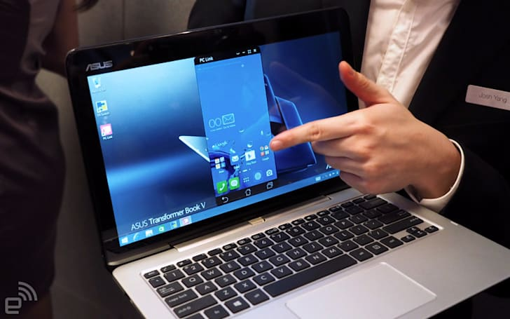 Up close with ASUS' quirky Windows laptop/Android phone hybrid