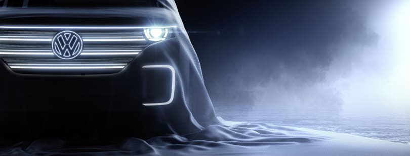 VW teases electric concept for CES
