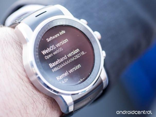 原来 LG 为 Audi 制造的那款手表是运行 webOS 的!
