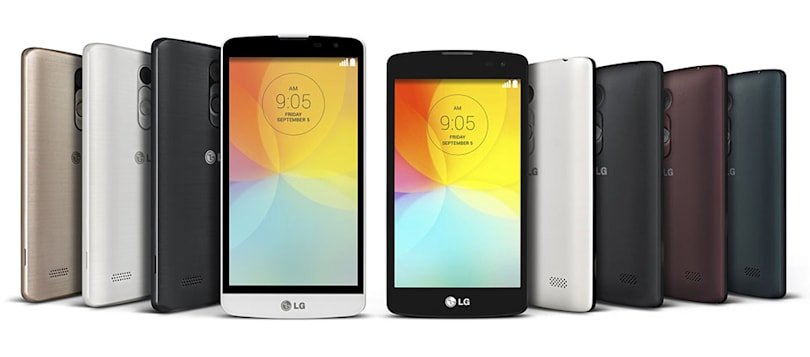 LG's L-series phones keep the flair but drop the specs