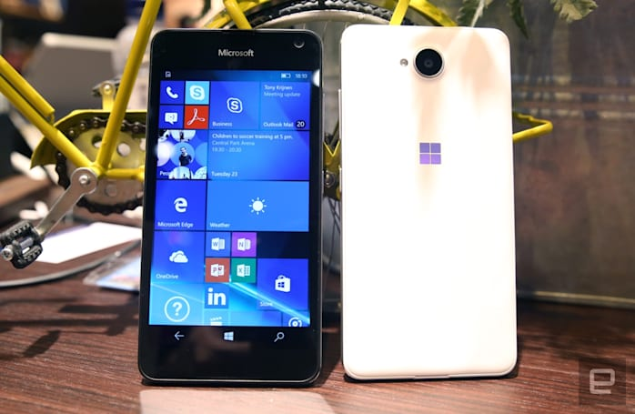 Microsoft's budget Lumia 650 finds a few ways to impress