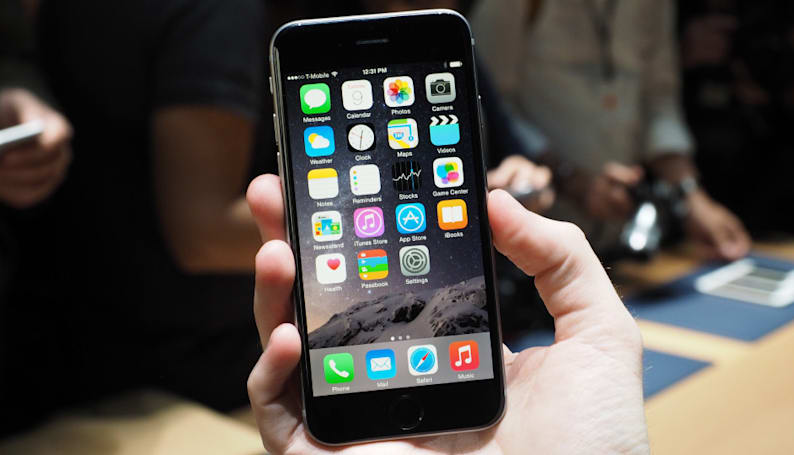 The iPhone 6 hands-on