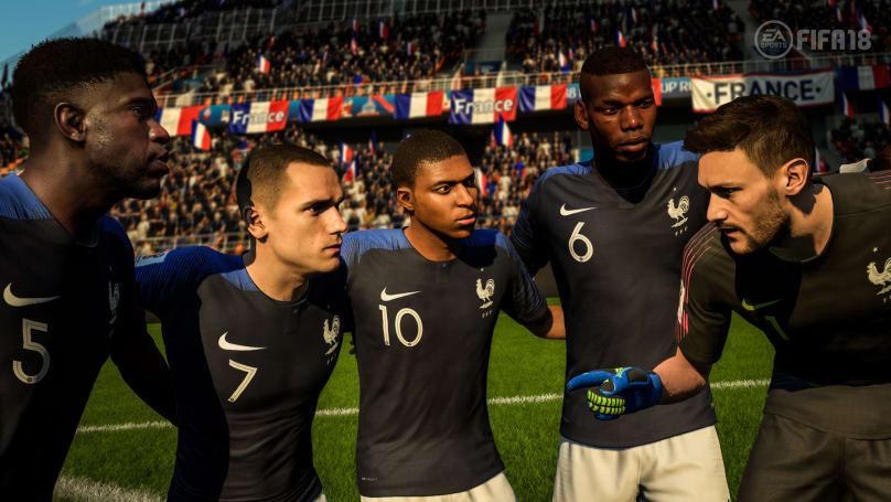 EA Sports 预测法国将夺世界杯冠军