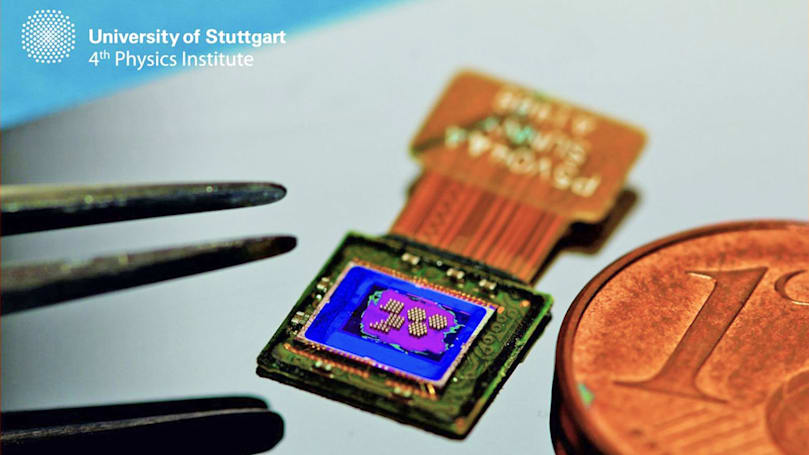 Microscopic camera could be injected into your body