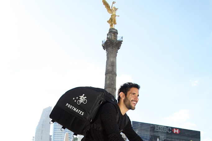Postmates' first food deliveries outside the US start in Mexico City