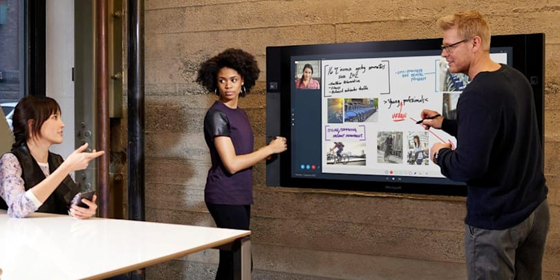 Microsoft's Surface Hub pen display costs from $6,999 to $19,999
