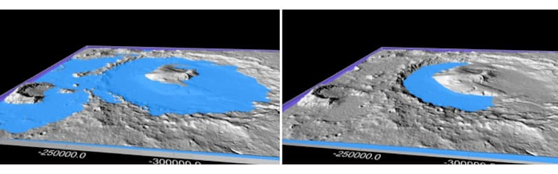 Climate change could explain Mars' imposing topography