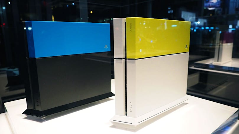 Your PS4 is screaming out for some color (and a gold DualShock 4)