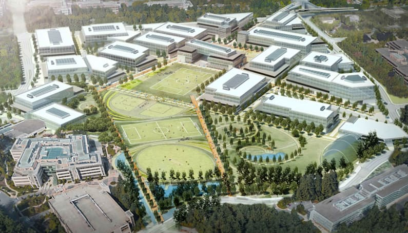 Microsoft's Redmond HQ is getting a multi-billion dollar makeover