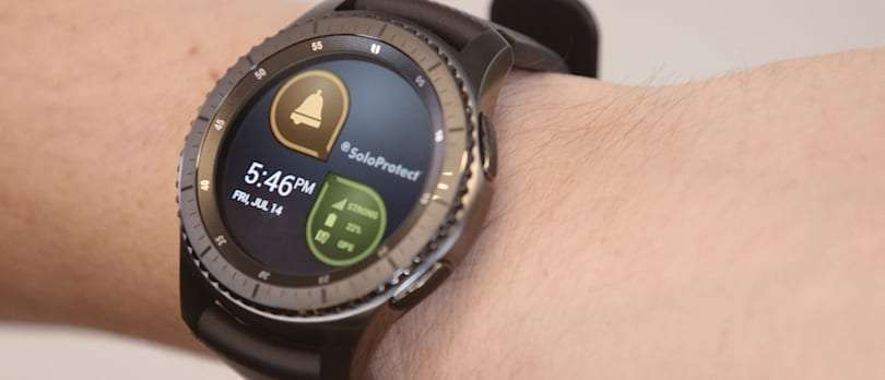 Samsung's Gear watches will help with senior care and employee safety