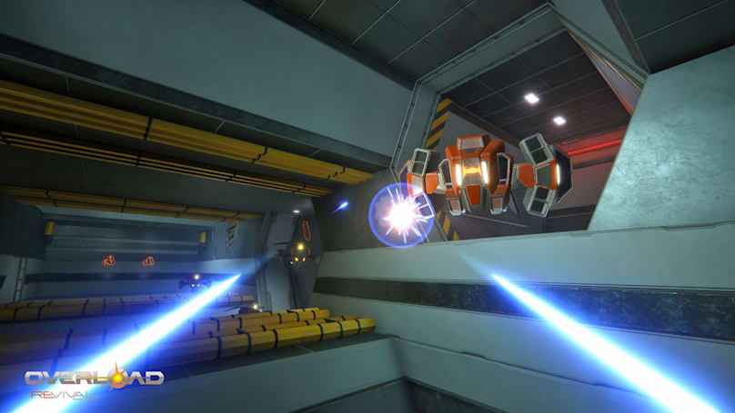 'Overload' revives the cramped combat of classic shooter 'Descent'