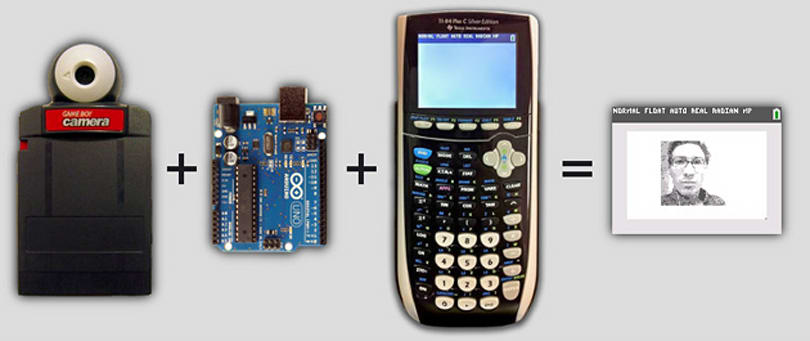 Mod turns your graphing calculator into a selfie camera