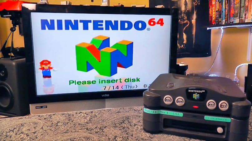 Rare US N64 disk-drive retail prototype found in Seattle