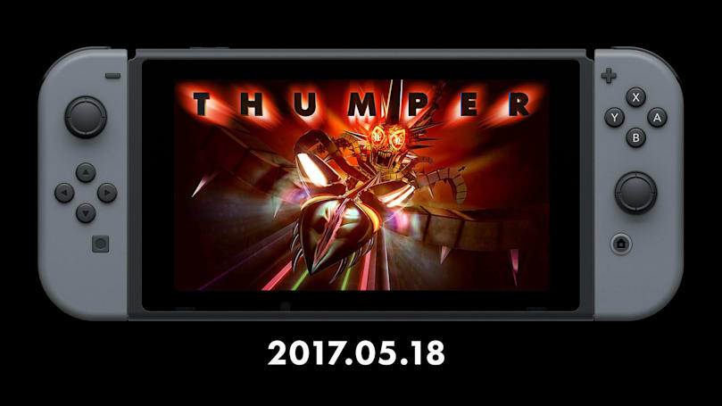 The rhythm action of 'Thumper' hits Nintendo Switch May 18th