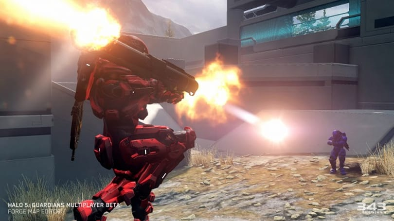 Halo 5 beta adding Strongholds mode, Rocket Launcher