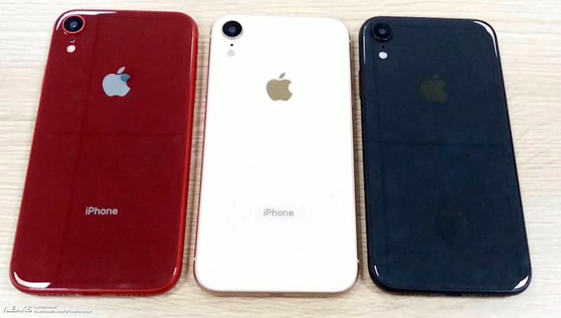 Purported 'iPhone XC' leak shows color varieties and dual SIMs