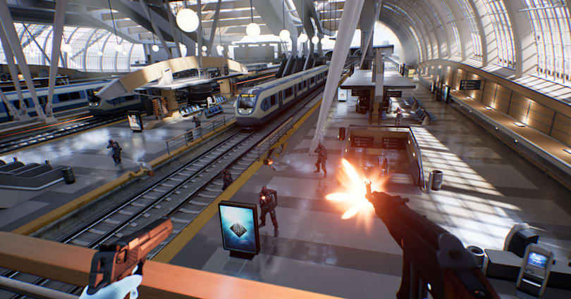 Epic Games' new shooter is virtual reality's killer gaming app
