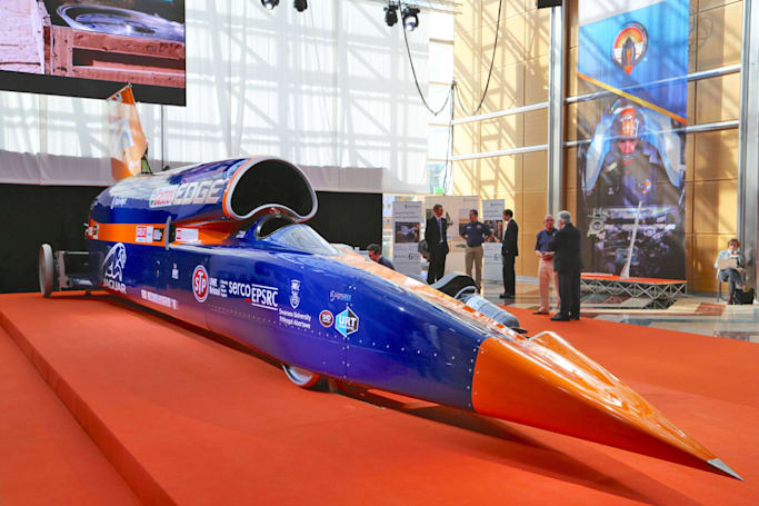 Bloodhound 的火箭动力车要延后到 2019 年才能冲刺纪录