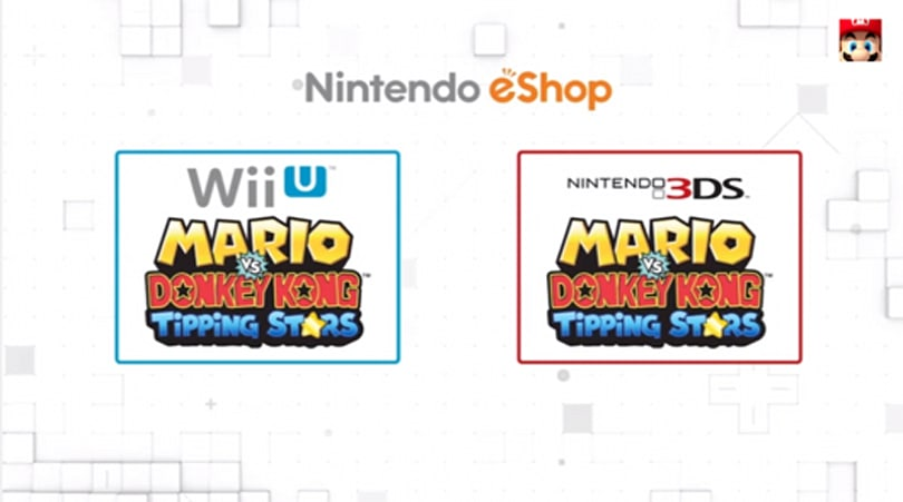 Mario vs. Donkey Kong is the first Nintendo cross-buy game