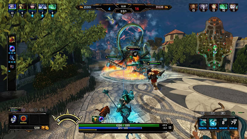 Free, third-person MOBA 'Smite' heads to PlayStation 4
