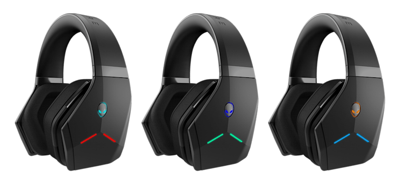 Alienware's Wireless Headset trades style for 7.1 surround sound