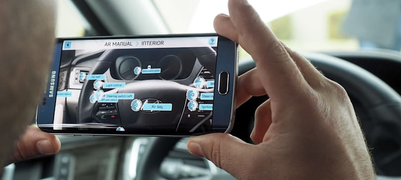 Hyundai wants to replace the owner's manual with AR
