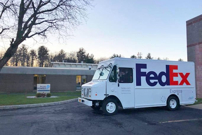 FedEx adds a hydrogen fuel cell van to its fleet