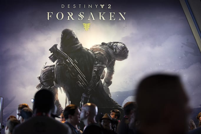 'Destiny 2: Forsaken' purchases now include earlier add-ons