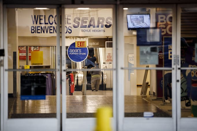 Sears, the Amazon of its day, files for bankruptcy