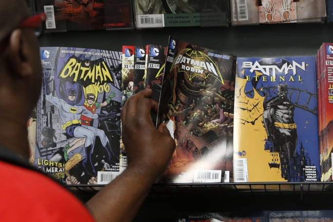The comic industry would rather grind to a halt than go digital