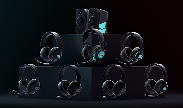 JBL is ready to take on gaming headphones with its Quantum lineup