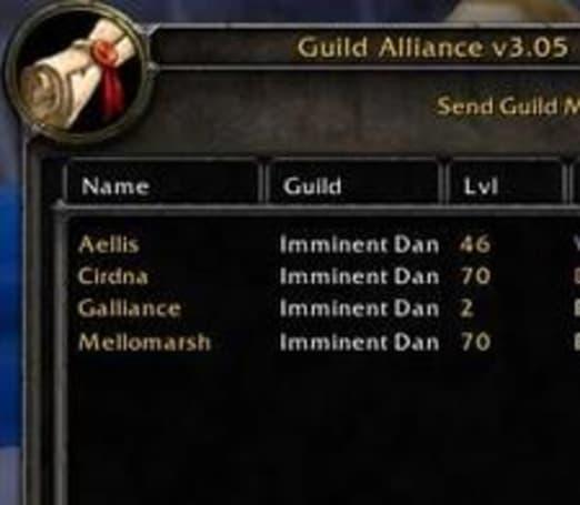 Guild alliances in the UI