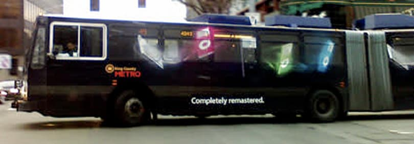 iPod Bus takes to the streets