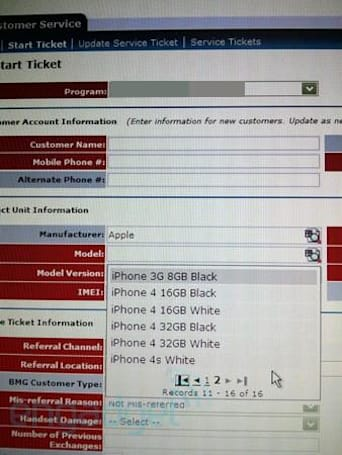Did a white iPhone 4S just pop up in AT&T's system?